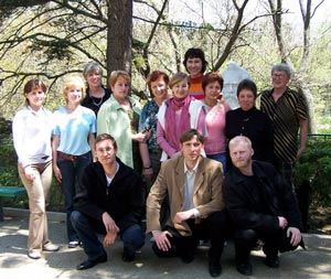 Ukraine course group photo